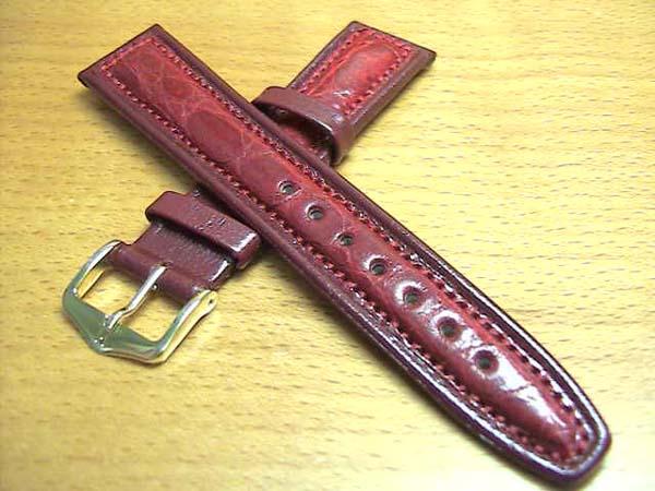 クロコダイル(ワニ)時計バンド 時計ベルト バネ棒 サービス 18mm 腕時計用 時計ベルト 時計用バンド 525円で販売していますバネ棒をサービスでお付けします。