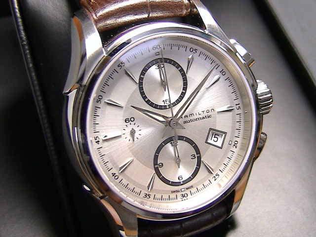 ハミルトン 腕時計 HAMILTON ジャズマスター オートクロノ H32616553 【文字盤カラー シルバー】 【送料無料】【自動巻き】
