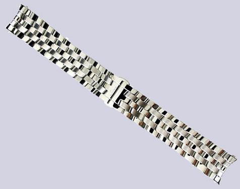 SINN ジン 腕時計 ブレスレット 903,956用 (22mm) &6000,6060 (20mm) 純正 ステンレススチール 時計バンド 時計ベルト フード付きブレスレット SSサテン×SSポリッシュ優美堂はSinnのOfficial Agent (正規販売店)です。