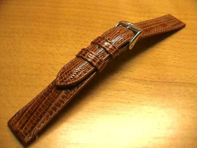 14mm時計バンド(腕時計)ベルト14ミリ リザード(トカゲ) 時計ベルト・バンド バネ棒サービス 14ミリ 茶 腕時計用 時計ベルト 時計用バンド 525円で販売していますバネ棒をサービスでお付けします。