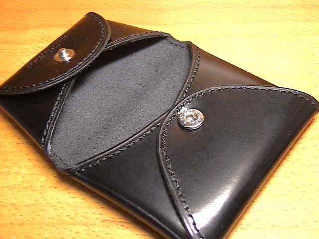 松阪牛レザー財布 SATOLI さとり コインケース 硯(ブラック) ☆日本全国=北は北海道、南は沖縄まで送料580円でお届けけします☆