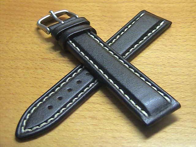 ジン 103,556 等々 (20mm & 22mm) SINN 純正バンド ベルト 牛革 カウレザー ストラップ チタン・バックル 腕時計用 時計ベルト 時計用バンド