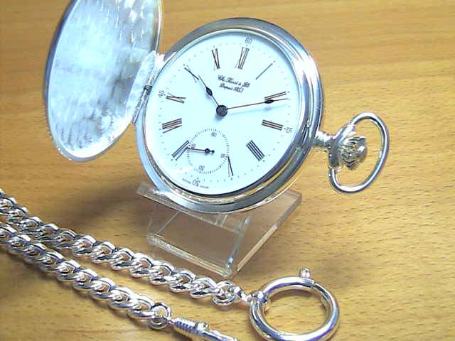 TISSOT Tissot Sterling Silver Pocket Watch Pocket Watch T83.1.452.13 ★ Japan nation-North Hokkaido, South's will deliver at no shipping charge to Okinawa ★