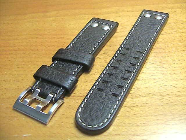ハミルトン ベルト 時計 バンド カーキ コンサベーション用 交換 革バンド ベルト 21mm 腕時計用 時計ベルト 時計用バンド HAMILTON H600775109