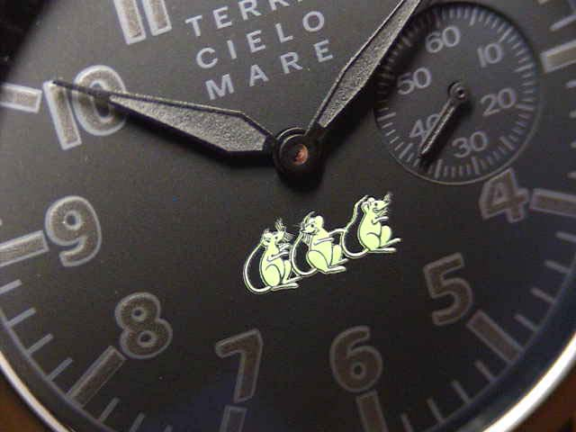TERRA CIELO 母馬 Terra 大提琴-母馬手錶慕尼克夜曲 Ref.TC7004PVD3PA 手卷