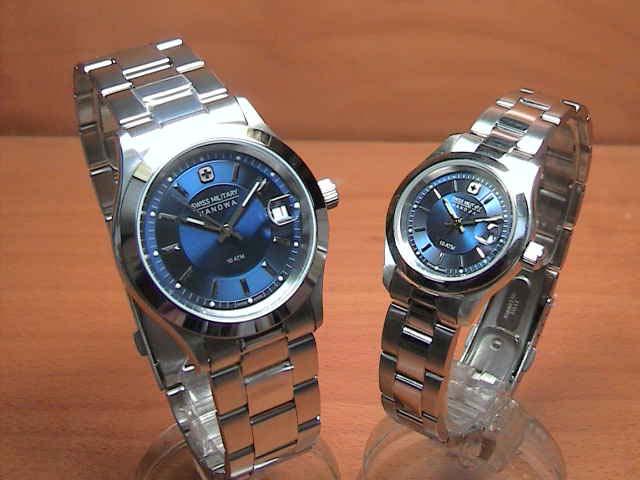 スイスミリタリー 腕時計 SWISS MILITARY ペアウォッチ エレガントプレミアム ML301 ML309 ペアウォッチ 【安心の正規輸入品】