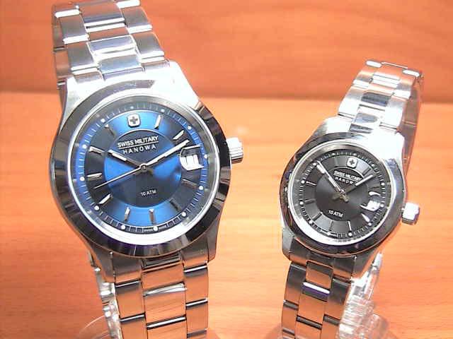 スイスミリタリー 腕時計 SWISS MILITARY ペアウォッチ エレガントプレミアム ML301 ML308 ペアウォッチ 安心の正規輸入品