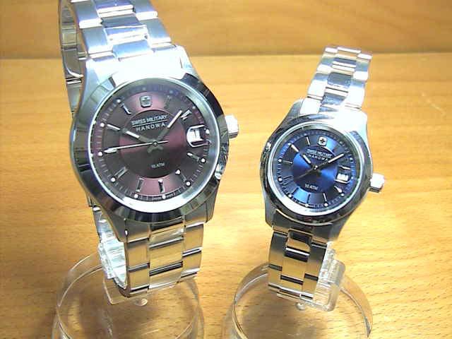 スイスミリタリー 腕時計 SWISS MILITARY ペアウォッチ エレガントプレミアム ML305 ML309 ペアウォッチ 【安心の正規輸入品】