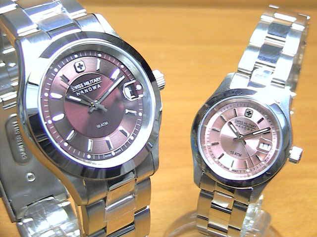 ペアウォッチ 【安心の正規輸入品】 SWISS スイスミリタリー ペアウォッチ ML305 腕時計 ML311 エレガントプレミアム MILITARY