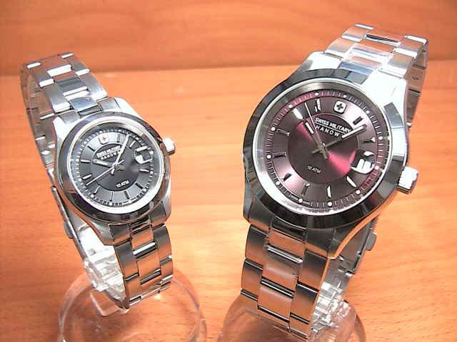 スイスミリタリー 腕時計 SWISS MILITARY ペアウォッチ エレガントプレミアム ML305 ML308 ペアウォッチ 【安心の正規輸入品】