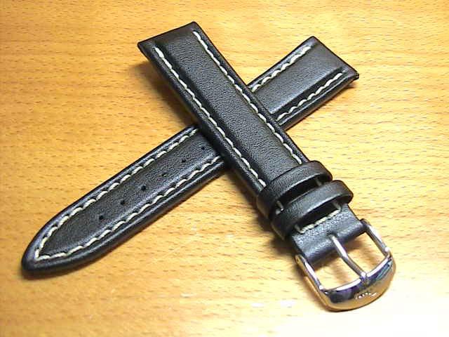 ジン 103,556 等々 (20mm & 22mm) SINN 純正バンド ベルト 牛革 カウレザー ストラップ SSマット・バックル & SSポリッシュ・バックル 腕時計用 時計ベルト 時計用バンド
