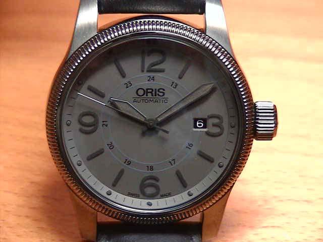 オリス 腕時計 ORIS 時計 ビッグクラウン デイト Ref.73376294263F 【送料無料】