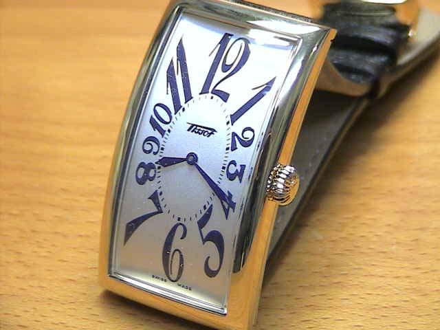 tiso手錶TISSOT香蕉表T56.5.622.32