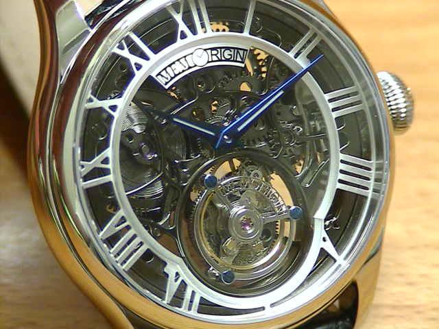 メモリジン 腕時計 トゥールビヨン MEMORIGIN Auspicious オースピシャス マニュファクチュール トゥールビヨン MO0123SSBKBKR