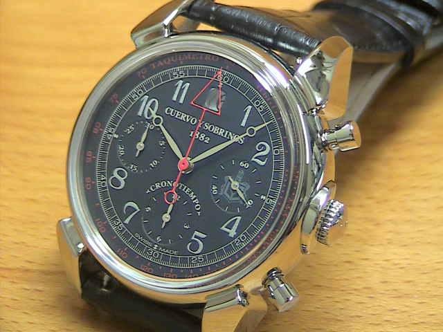 クエルボイソブリノス 腕時計 トルピード ヒストリアドール クロノテンポ 正規商品 Ref.3197-1N クエルボ・イ・ソブリノス 無金利分割も可能です。