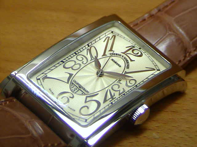 クエルボイソブリノス 腕時計 プロミネンテ ソロテンポ デイト 正規商品 Ref.1012-1CHG クエルボ・イ・ソブリノス 無金利分割も可能です。
