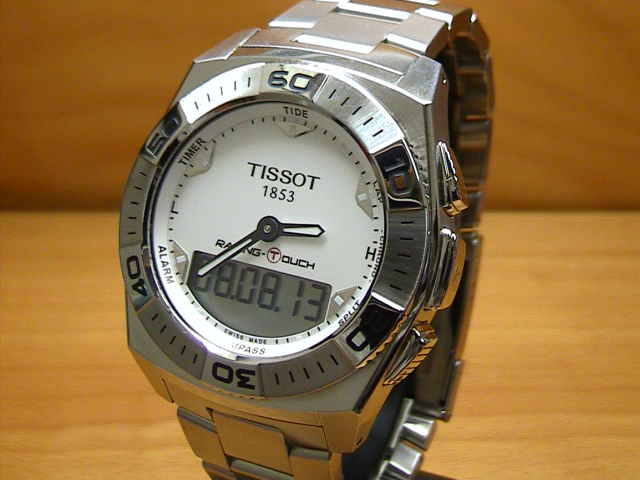 Tissot watch TISSOT RACING-TOUCH racing touch T0025201103100 men