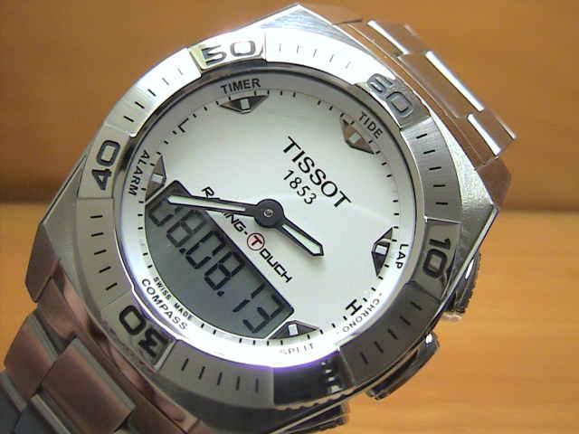ティソ手表TISSOT RACING-TOUCH賽車接觸T0025201103100人的