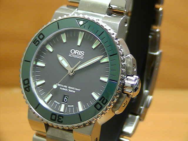ORIS オリス アクイス 腕時計 43ミリ 73376534157M 【送料無料】【正規輸入品】