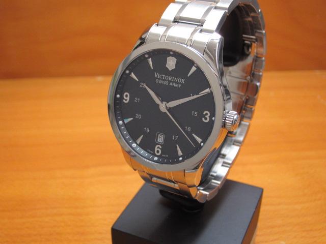 VICTORINOX ビクトリノックス 腕時計 Alliance アライアンス メタルブレスレット Ref.241473