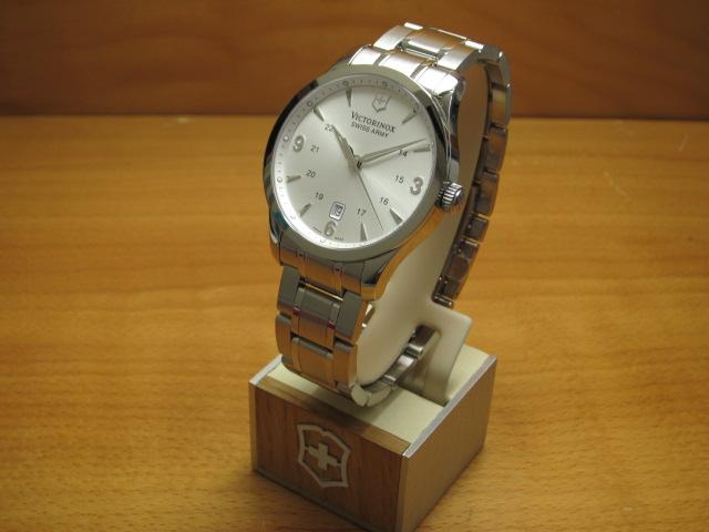VICTORINOX ビクトリノックス 腕時計 Alliance アライアンス 3針 メタルブレスレット Ref.241476