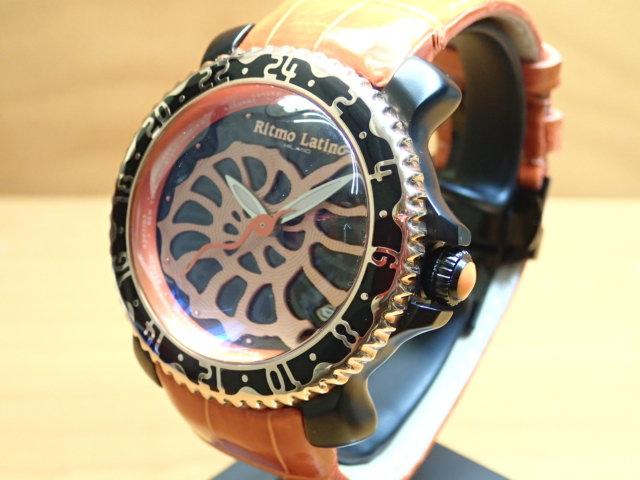 【Ritmo Latino リトモラティーノ 腕時計】 Viaggio AMMONITE ビアッジョ 自動巻き式 VA16BKM自動巻きムーブメント搭載!メーカー保証つきの正規販売店商品です。
