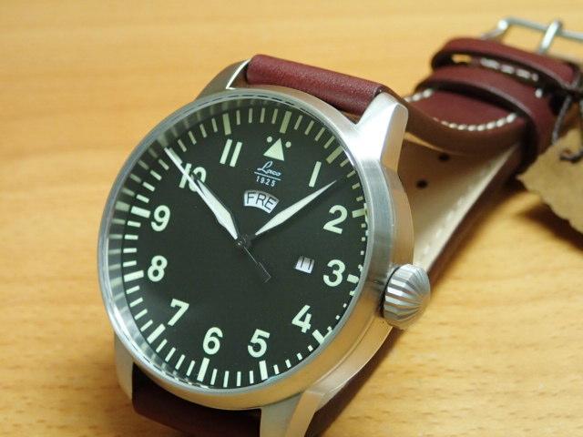 ラコ 腕時計 Laco パイロットウォッチ 861807 Genf ゲンフ 42MM クォーツ優美堂のLaco ラコ腕時計はメーカー保証2年つきの正規販売店商品です。