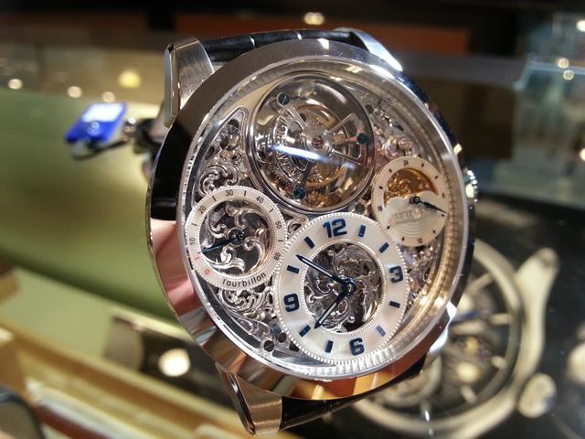 メモリジン 腕時計 トゥールビヨン MEMORIGIN StarlitLegend Imperial スターリットレジェンド インペリアル マニュファクチュール トゥールビヨン MO1231SSIMP 優美堂は分割払いもできます!