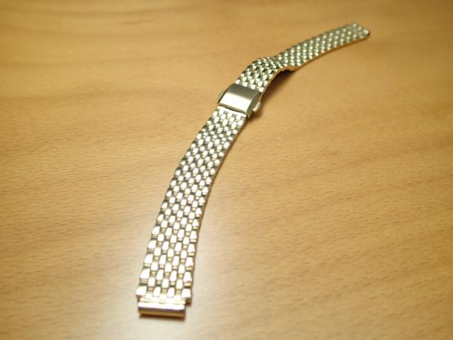 12mm 時計バンド(腕時計)ベルト12ミリ ステンレススチール ブレスレット メタル バンド ベルト 時計ベルト・バンド バネ棒 サービス付き 12mm 時計ベルト 525円で販売していますバネ棒をサービスでお付けします。