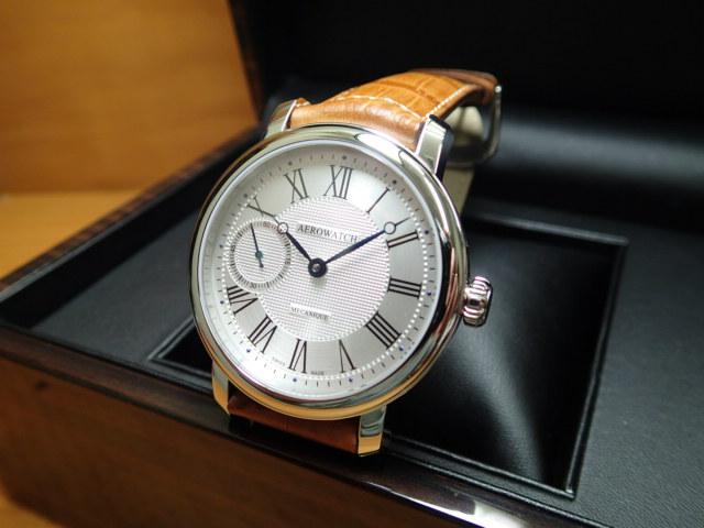 アエロ ウォッチ ビッグメカニカル 腕時計 AERO WATCH Collection Renaissance Big Mechanical A50931AA06AERO WATCH アエロ ウォッチ 日本全国=北は北海道、南は沖縄まで送料0円 送料無料でお届けけします