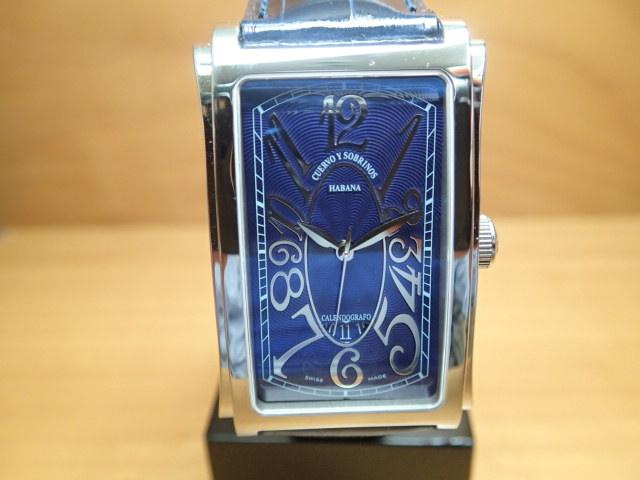 クエルボイソブリノス 腕時計 プロミネンテ ソロテンポ デイト 正規商品 Ref.1012-1BSG 【クエルボ・イ・ソブリノス】無金利分割も可能です。