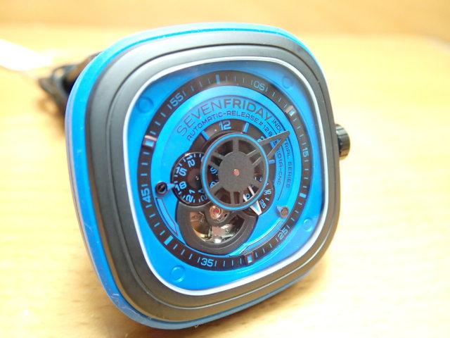 SEVENFRIDAY セブンフライデー 腕時計 インダストリアルエッセンス ブルー 正規輸入商品 Ref.P1-4セブンフライデーはメーカー保証2年付の正規代理店商品になります。