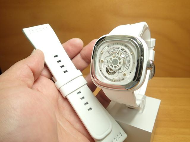 SEVENFRIDAY セブンフライデー 腕時計 インダストリアルエッセンス ブライト 正規輸入商品 Ref.P1-2【ラバーバンドつき】セブンフライデーはメーカー保証2年付の正規代理店商品になります。