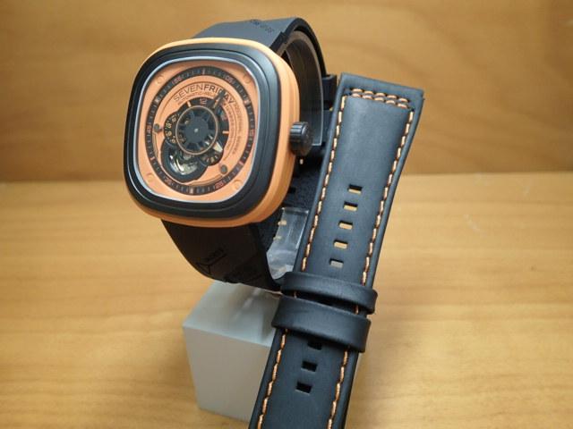 SEVENFRIDAY セブンフライデー 腕時計 インダストリアルエッセンス オレンジ 正規輸入商品 Ref.P1-3【ラバーバンドつき】セブンフライデーはメーカー保証2年付の正規代理店商品になります。