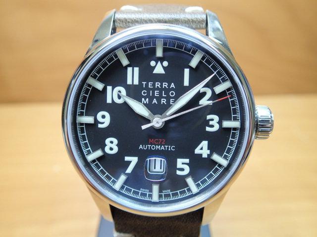 TERRA CIELO MARE テッラ・チエロ・マーレ 腕時計 AVIATORE Mark2 アヴィアトーレ マーク2 自動巻き Ref.TC7103AC3PA 【送料無料】