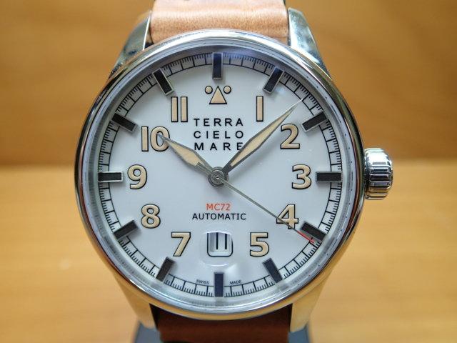TERRA CIELO MARE テッラ・チエロ・マーレ 腕時計 AVIATORE Mark2 アヴィアトーレ マーク2 自動巻き Ref.TC7103AC2PA 【送料無料】