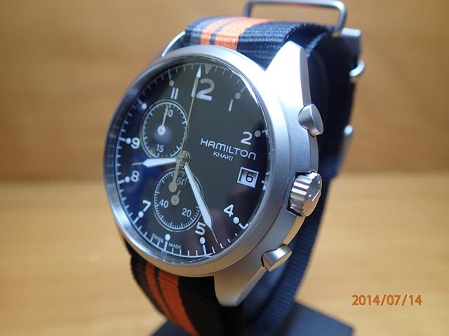 ハミルトン 腕時計 HAMILTON KHAKI PILOT PIONEER CHRONO カーキ パイロット パイロット クロノ H76552933 メンズ 【送料無料】【正規輸入品】