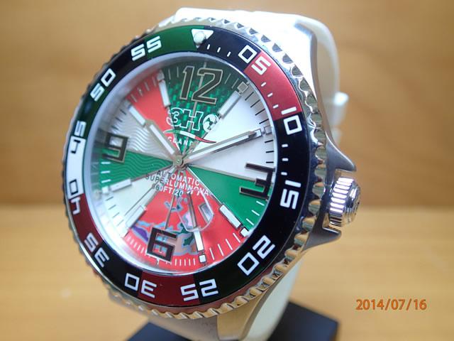 3H トレアッカ 腕時計 M1.ITALY 52mm 機械式腕時計 正規輸入品