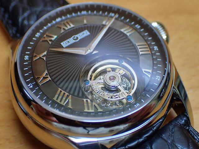 Memorizing watch Tourbillon MEMORIGIN Orbit automatic winding automatic manufacture Tourbillon AT0221-SSBKBKR
