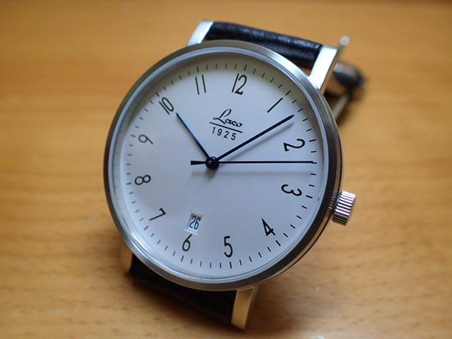 ラコ 腕時計 Laco クラシック ウォッチ 861859 40MM 手巻き巻優美堂のLaco ラコ腕時計はメーカー保証2年つきの正規販売店商品です。