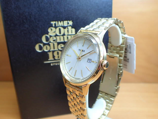 Timex TIMEX watch 20th Collection 1962 reissue model UG0118
