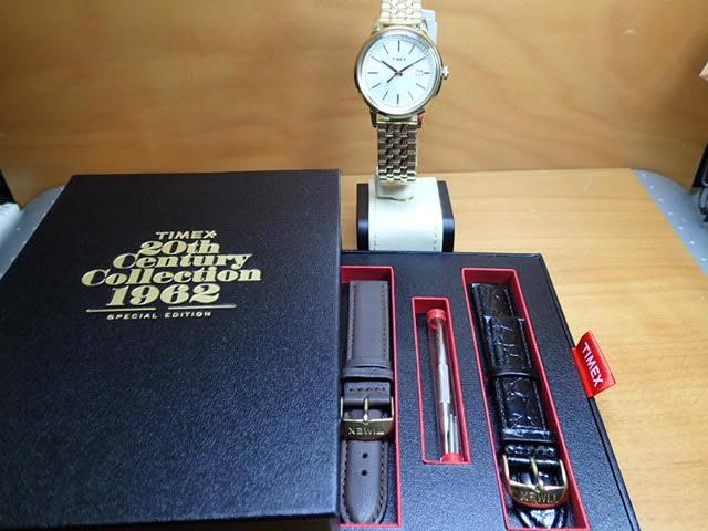Timex TIMEX手錶20th Collection 1962年復版型號UG0118 B01D79VNS8