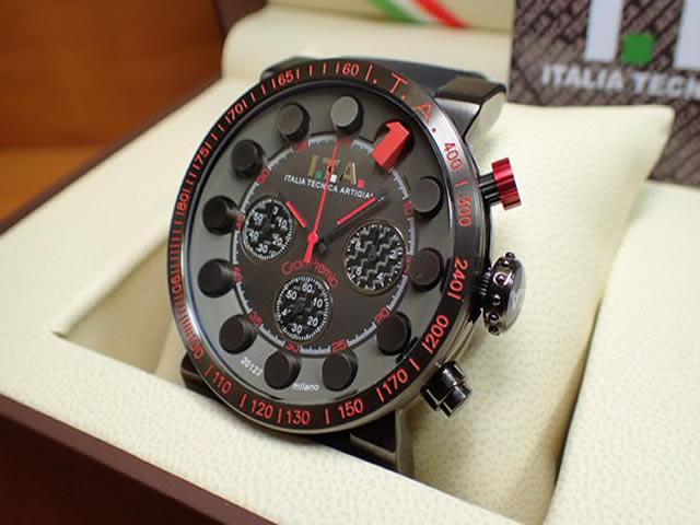I.T.A アイティーエー 腕時計 Gran Premio グラン プレミオ 正規商品 Ref.18.01.02優美堂のI.T.A アイティーエー 腕時計はメーカー保証2年の正規商品です