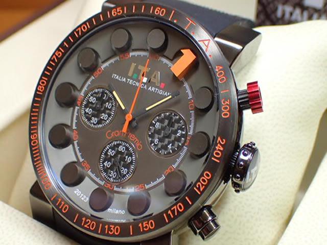ITA 腕時計 アイティーエー Gran Premio グラン プレミオ 正規商品 Ref.18.01.04優美堂のI.T.A アイティーエー 腕時計はメーカー保証2年の正規商品です