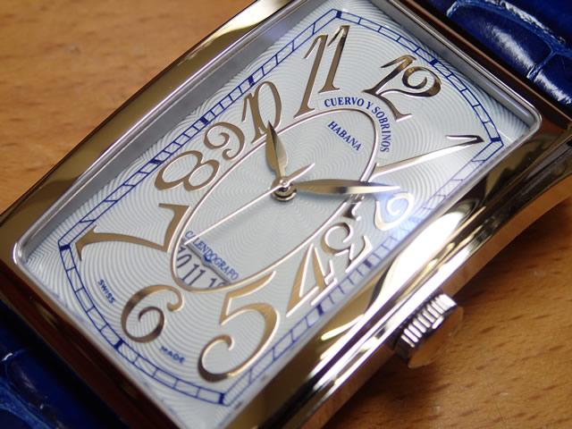 クエルボイソブリノス 腕時計 プロミネンテ ソロテンポ デイト 正規商品 Ref.1012-1CEG 【クエルボ・イ・ソブリノス】無金利分割も可能です。