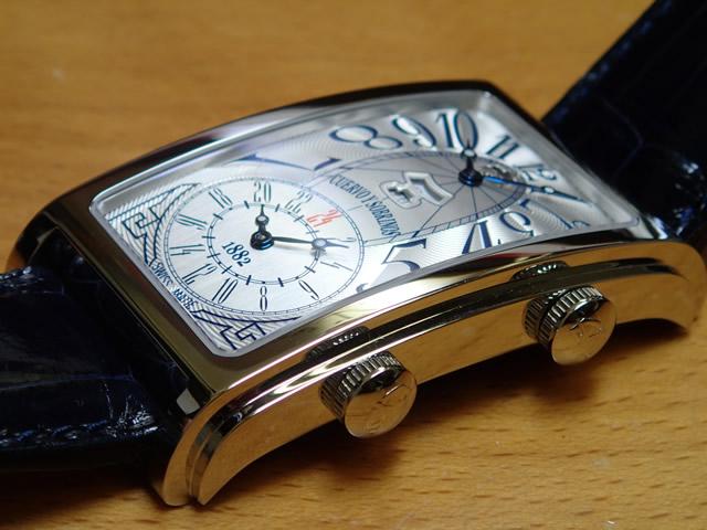 クエルボイソブリノス 腕時計 プロミネンテ デュアルタイム デイデイト 正規商品 Ref.1124-1AAG クエルボ・イ・ソブリノス 無金利分割も可能です。