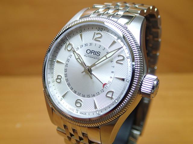 オリス 腕時計 ORIS ビッグクラウンポインターデイト メンズサイズ 75476794061M 分割払いでお求めくだい 【送料無料】
