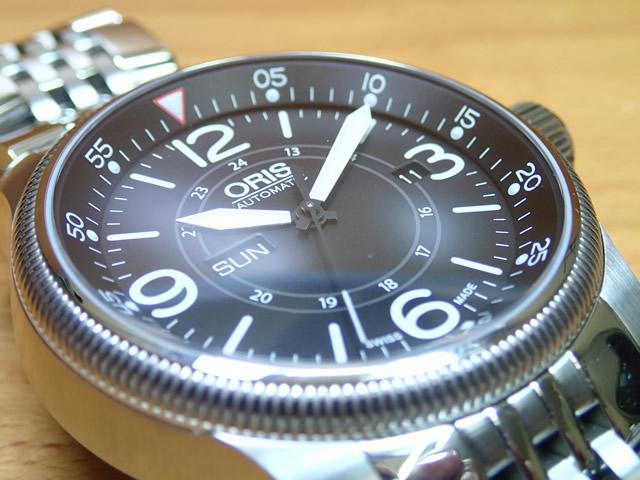 オリス 腕時計 ORIS ビッククラウン タイマー 73576604064M 【送料無料】