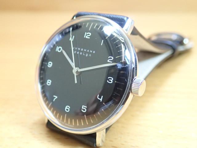 ユンハンス マックスビル バイユンハンス 腕時計 MAX BILL BY JUNGHANS Hand Wind 34mm マックスビル 手巻き式 027 3702 00 正規商品