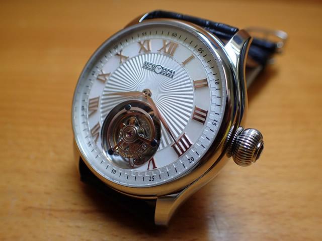 メモリジン 腕時計 トゥールビヨン MEMORIGIN Orbit 自動巻き式 オートマチック マニュファクチュール トゥールビヨン AT0221SSWHBKR 優美堂は分割払いもできます!
